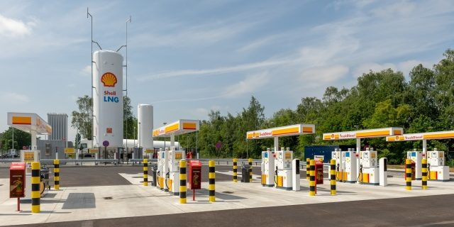 belgia CNG shellstation